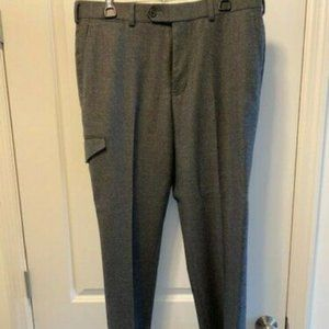 Brooks Brothers Men Stretch-Wool Flannel Pants